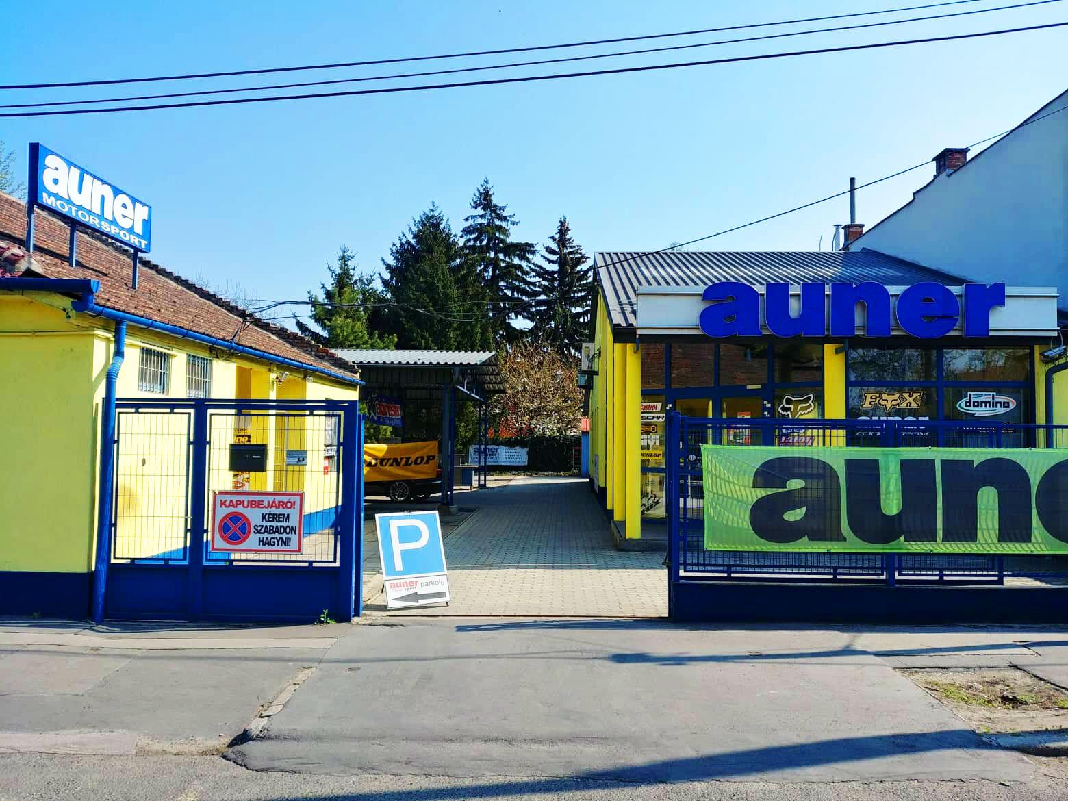 Auner Motorsport Üzlet Budapest