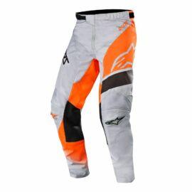 Alpinestars Racer Supermatic Gyerek Motocross Nadrág (Gray-Orange)