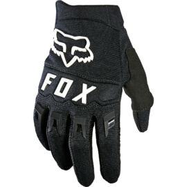 Fox Dirtpaw Gyerek Motocross Kesztyű (Black-white)