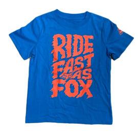 Fox Liquify Kisgyerek Póló (Electric blue)