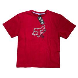 Fox Boys Scribble Kisgyerek Póló (Piros)