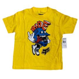 Fox Rippler Kisgyerek Póló (Sárga)