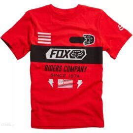 Fox Youth Osage Gyerek Póló (Piros)