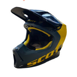 Scott 550 Angled ECE MIPS MX Bukósisak (Kék-sárga)