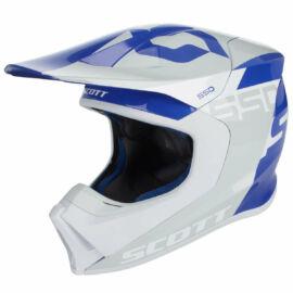 Scott 550 Woodblock ECE MIPS MX Bukósisak (Kék-szürke)