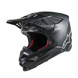 Alpinestars Supertech S-M8 Solid Motocross Bukósisak (Matt fekete)