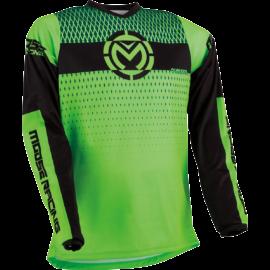 Moose Racing Qualifier Motocross Mez (Zöld-fekete)