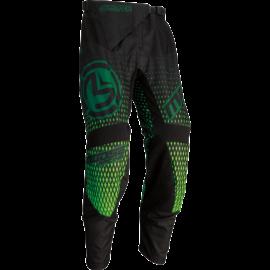 Moose Racing Qualifier Motocross Nadrág (Zöld-fekete)
