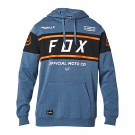Fox Racing Official Kapucnis Pulóver (Bluesteel)