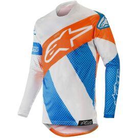 Alpinestars Racer Tech Atomic Cross Mez (kék-narancs)
