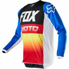 Fox 180 Fyce Gyerek MX Mez (Kék-piros)