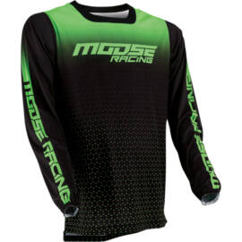 Moose Racing M1 Motocross Mez (Zöld-fekete)
