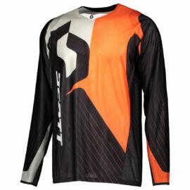 Scott 450 Angled Motocross Mez (Fekete-orange)