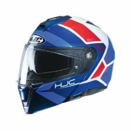 HJC I90 Felnyitható Bukósisak (Kék-fehér-piros)