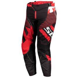 Scott 450 Patchwork Motocross Nadrág (fekete-piros)