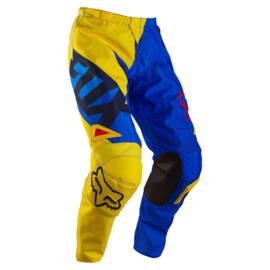 Fox 180 Vandal Cross Nadrág (Sárga-kék)