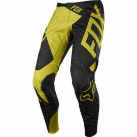 Fox 360 Preme Motocross Nadrág (Fekete-sárga)