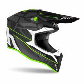 Airoh MX Wraap Mood Motocross Bukósisak (Zöld matt)
