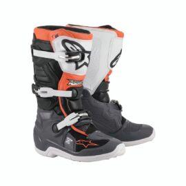 Alpinestars Tech 7S Gyerek MX Csizma (Orange fluo)