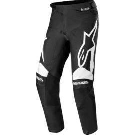 Alpinestars Racer Supermatic Motocross Nadrág (fekete-fehér)