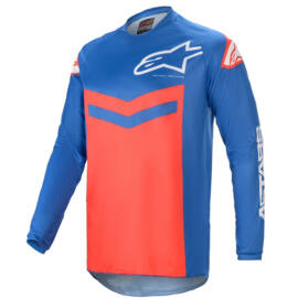 Alpinestars Fluid Speed Motocross Mez (kék-piros)
