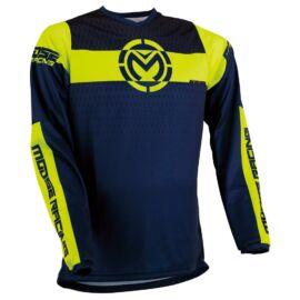 Moose Racing Qualifier Motocross Mez (kék-sárga)