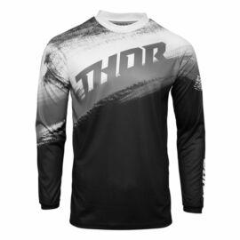 Thor Pulse Racer Motocross Mez (Fekete-fehér)