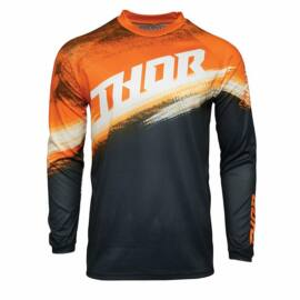 Thor Pulse Racer Motocross Mez (Narancssárga-fekete)
