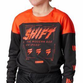 Shift Whit3 Label Gyerek MX Mez (Fekete)