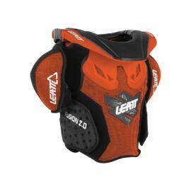 Leatt Fusion 2.0 Gyerek MX Páncél Nyakvédővel (Narancs)