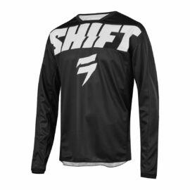 Shift Whit3 York Motocross Mez (fekete-fehér)