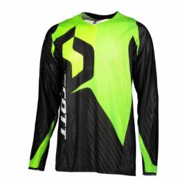 Scott 450 Angled Light Motocross Mez (fekete-zöld)