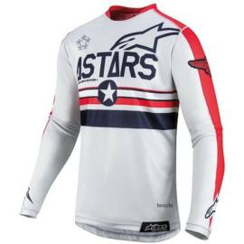 Alpinestars Racer Tech Five Star MX Mez (fehér-piros)