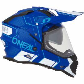 Oneal Sierra II Comb Enduro Bukósisak (Kék-fehér)