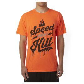 Fox Speed Wobble SS Tech Rövid Ujjú Póló (fluo orange)