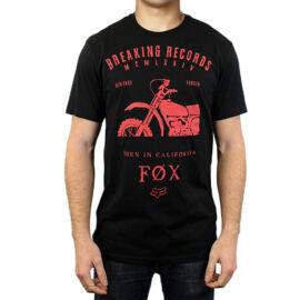 Fox Boxed Out Rövid Ujjú Póló (fekete)