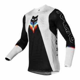 Fox Racing FLEXAIR Relm MX Mez (Fekete-Fehér)