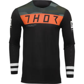Thor Prime Hero Status Motocross Mez (Fekete-camo)
