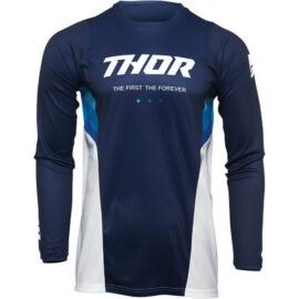 Thor Pulse React Motocross Mez (Navy-fehér)