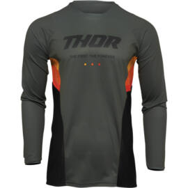 Thor Pulse React Motocross Mez (Army-fekete)