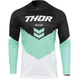 Thor Sector Chev Cross Mez (Fekete-menta)