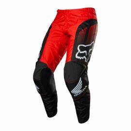 Fox Racing 180 HONDA Motocross Nadrág (Fekete-Piros)