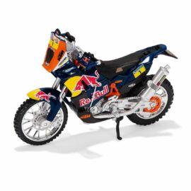 Red Bull KTM Dakar Rally Motorkerékpár Makett (1:18)