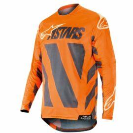 Alpinestars Racer Braap Motocross Mez (Narancs-szürke)