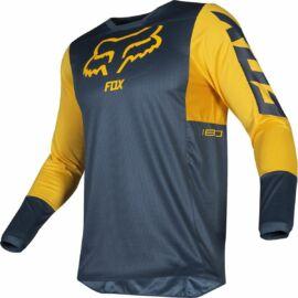 Fox Racing 180 PRZM Motocross Mez (Navy-Sárga)