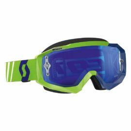 Scott Hustle Motocross Szemüveg(zöld-kék)