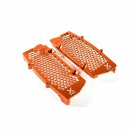 X-GRIP Alu Hűtővédő KTM, Husqvarna 2020 (Narancssárga)