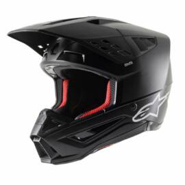 Alpinestars S-M5 Solid MX Bukósisak (Fekete)