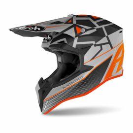 Airoh MX Wraap Mood Motocross Bukósisak(orange matt)