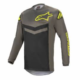 Alpinestars Fluid Speed Motocross Mez (szürke-fluo sárga)